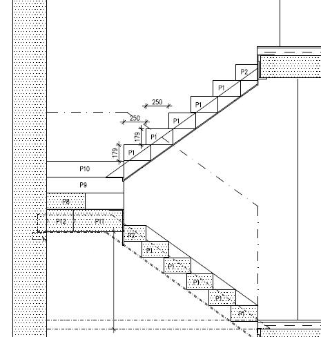Joonis 2. Alt avatud trepi näidis